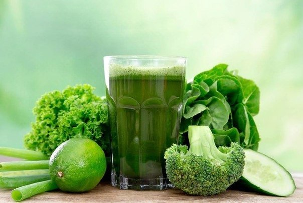 Зеленые смузи для очищения организма. Зеленые смузи для очищения организма 2